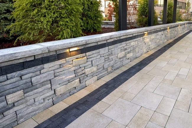 Affordable retaining wall stone services bay area